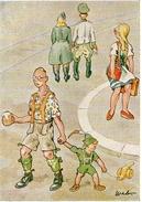 (23) CPSM Occupation Nazie En Alsace Dessin A Weber  Mulhouse (bon Etat) - France