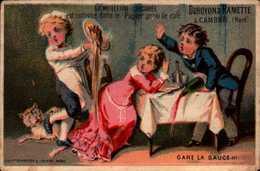 1 Chromos -  Chicorée Et Café - Cambrai - Duroyon Et Ramette - Gare La Sauce !!! -  Bill-646  -  R/V - Thé & Café