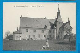 VILLEQUIERS   Le Château            Animées - France