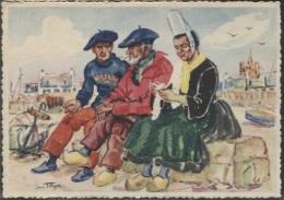 CPM - Illustration YANN TREGOR - IMAGES De BRETAGNE - PENMARC'H - Edition Riou-Nédelec - Bretagne