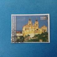 2002 ONU VIENNA FRANCOBOLLO USATO STAMP USED - Patrimonio Mondiale Austria Wachau Melk Abbazia - Europe (Other)
