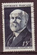 FRANCE - 1950 -YT N° 864  - Oblitéré - Raymond Poincarré - Usati