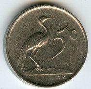 Afrique Du Sud South Africa 5 Cents 1970 KM 84 - Afrique Du Sud