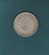 5 Francs Argent Hercule 1er Type Dupré 1849A Bel Aspect - J. 5 Francs