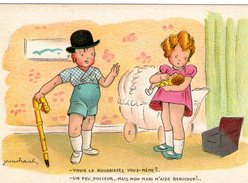 (23) CPA  Illustrateur Jean Cheval    (bon Etat) - Cheval