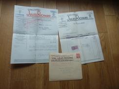 Appareil Etablissement Jules Richard Verascope  1941 Documents Commerciaux + ENVELOPPE - Francia