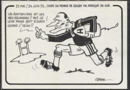 CPM - JACQUES CHIRAC .... Carte Satirique J.CLAVAL - Edition Scoop - Satiriques