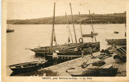 """CPA """"belon Pres Kerfany Les Pins Le Port - France"""