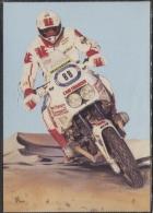 CPM - MOTO ECUREUIL 1000 - Edition PUB - Motorcycle Sport