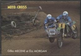 CPM - GILLES MECENE & ERIC MORGAN - MOTO CROSS - Edition Ch.Corlet - Sport Moto