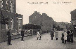 Villers-Le-Bouillet  Hameau De La Panneterie   2 Petit Pli Mais Pratiquement Invisible - Villers-le-Bouillet