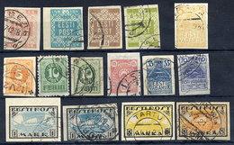 ESTONIA 1918-19 Complete Issues, Used  Michel 1-13y - Estonia