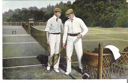 Tennis Players Ready For A Match - Tennis