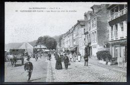 CAUDEBEC EN CAUX 76 - Les Quais Un Jour De Marché - Caudebec-en-Caux