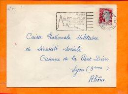 HAUTE-LOIRE, Le Puy En Velay, Flamme SCOTEM N° 36a, Passez Au Puy En Velay (Hte Loire) - Storia Postale