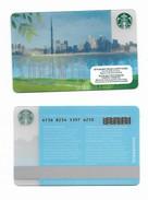 Starbucks Card - Canada - Toronto - 6136 Mint Pin - Gift Cards
