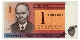 ESTONIA 1 KROON 1992 Pick 69a Unc - Estonia