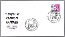Homenaje A Los MUERTOS EN NASSIRIYA - Tribute To The Dead In Nassiriya. Gorla Minore, Varese, 2004 - Militaria