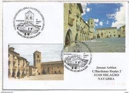 ESPAÑA CC CON MAT PRIMER DIA MADRID AINSA HUESCA ARQUITECTURA PUEBLOS CON ENCANTO - Kirchen U. Kathedralen