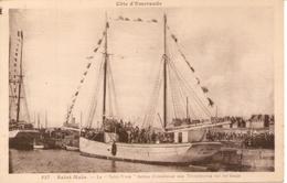 """TERRE-NEUVAS -  Le """" Saint Yves """" Bateau D'assistance Aux Terre-neuvas Sur Les Bancs - Saint Malo - - Autres"""