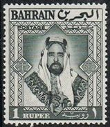 Bahrain SG124 1960 Definitive 1r Mounted Mint [19/18317/7D] - Bahrein (...-1965)