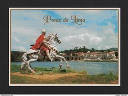 POSTCARD PORTUGAL ROMAN EMPIRE ROME ARMY ROMA SOLDIERS HORSE CAVALRY - Viana Do Castelo
