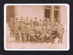 PHOTO ANCIENNE 04 Ecole Militaire Serbe De JAUSIERS Départ Du Commandant Liller 24 Août 1916 Bataillon Universitaire - Autres Communes