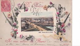 26212 VIET NAM - TONKIN - Panorama Près Citadelle -je Vous Envoie Ces Fleurs -Dieulefils -timbre 10 - Viêt-Nam