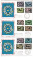 SAN MARINO FDC ZODIACO ASTROLOGIA HOROSCOPO - Astrología