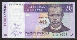 528-Malawi Billet De 20 Kwacha 2009 BL251 - Malawi