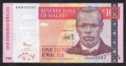 528-Malawi Billet De 100 Kwacha 2009 BN800 - Malawi