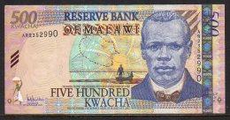 528-Malawi Billet De 500 Kwacha 2005 AR235 - Malawi