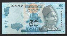 523-Malawi Billet De 50 Kwacha 2012 AA698 Neuf - Malawi