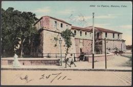 POS-711 CUBA POSTCARD. 1911. HABANA. CASTILLO DE LA FUERZA. FORCE CASTLE. - Cuba