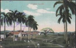 POS-713 CUBA POSTCARD. 1911. HABANA. BOHIO PAISAJE CAMPESTRE. COUNTRY HOUSE . - Cuba