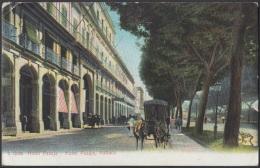 POS-728 CUBA POSTCARD. 1906. HABANA. PRADO PROMENADE HOTEL PASAJE TO CANADA. - Cuba