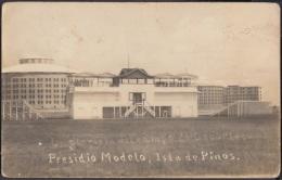 POS-773 CUBA POSTCARD. CIRCA 1920. PINES IS. PRESIDIO MODELO PRISION. CAMPO DE DEPORTES. - Cuba
