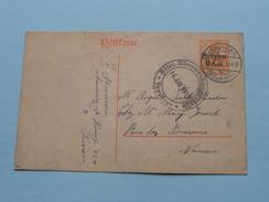 Postkarte - CP / PK NAMUR < Verviers ( Verviers 1917 ( Zie Foto ) ! - Stamped Stationery