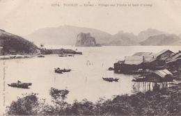 26221 VIET NAM - TONKIN - Kebao Village Sur Pilotis Baie D'along - 3074 Dieulefils - Viêt-Nam