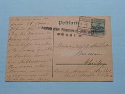Postkarte - CP / PK < < Etappen-le...... / Gent ( 1916 ( Zie Foto ) ! - German Occupation