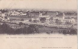 26222 VIET NAM - TONKIN - Hanoi -chambre Commer Colleges Boulevard Gia Long- 656 Dieulefils - Viêt-Nam