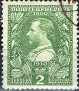 PIA - MONTENEGRO : 1910 - 50° Del Re Nicola I° - (Yv 98) - Montenegro