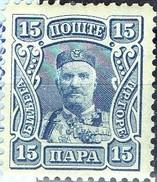PIA - YUG - MONTENEGRO : 1907 - Principe Nicola - (Yv 80) - Montenegro