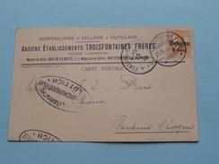 Postkarte - CP / PK Fontaine L'Eveque < ( TROISFONTAINES Frères) Liège ( Lüttich 1916 ( Zie Foto ) ! - German Occupation