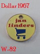 Shopping Carts / Winkelwagentjes / Jeton De Caddie - Netherlands - Jan Linders Supermarkt / Convenience Store. - Jetons De Caddies