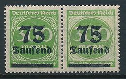 D. Reich Nr. 286 * Paar Mit Besonderheit