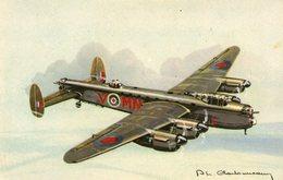 (23) CPA  Avion Lancaster   (bon Etat) - 1939-1945: 2nd War