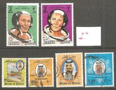 6 Timbres Du Qatar - Qatar