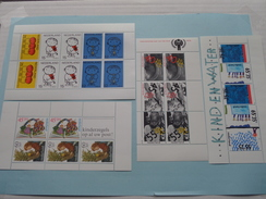 LOT Velletjes Postfris ( See / Zie - Foto / Photo ) Holland / Nederland Postfris !! - Blocs