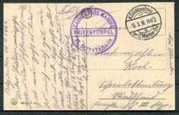 1916 Belgium Ostende, Place Leopold Postcard. Germany Kaiser Marine Feldpost 6th Seebataillon - Germany